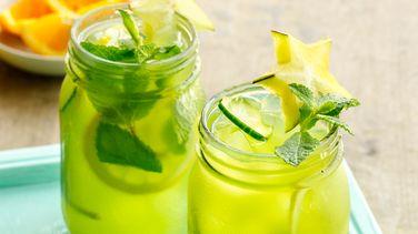 Agua de Pepino, Limón y Menta