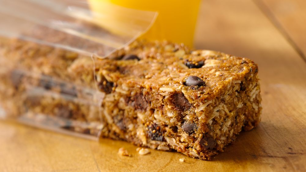 Gluten-Free Cookie Dough Energy Bars