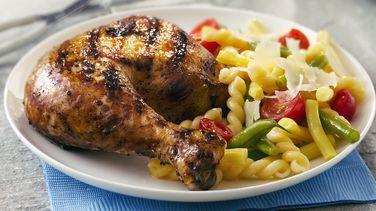 Pollo al Limón y Ajo