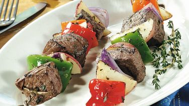 Grilled Steak and Potato Kabobs