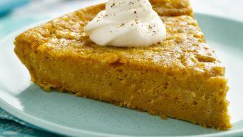 Gluten-Free Impossibly Easy Pumpkin Pie