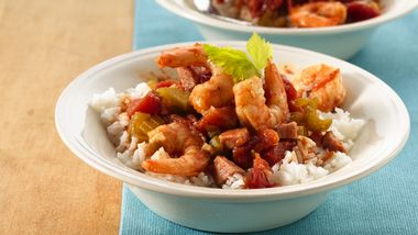 Slow-Cooker Creole Jambalaya (Cooking for 2)