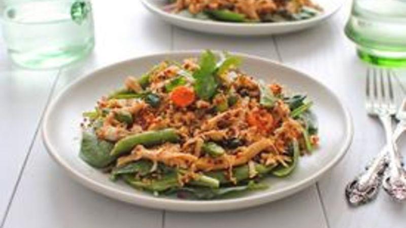 Easy Chicken Quinoa Salad