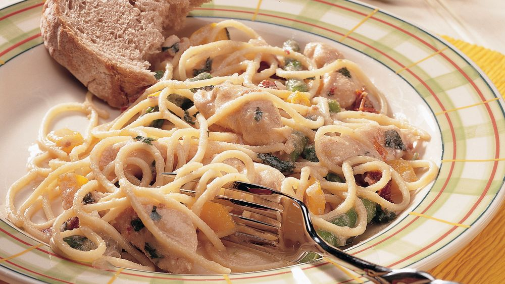 Asparagus-Chicken Pasta
