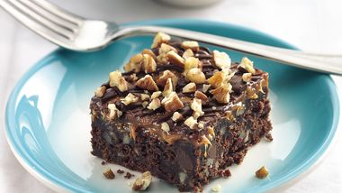 Outrageous Caramel-Fudge Brownies