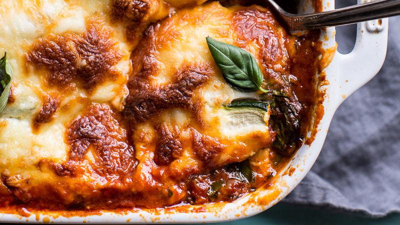 Vegetable Ragu Zucchini Lasagna