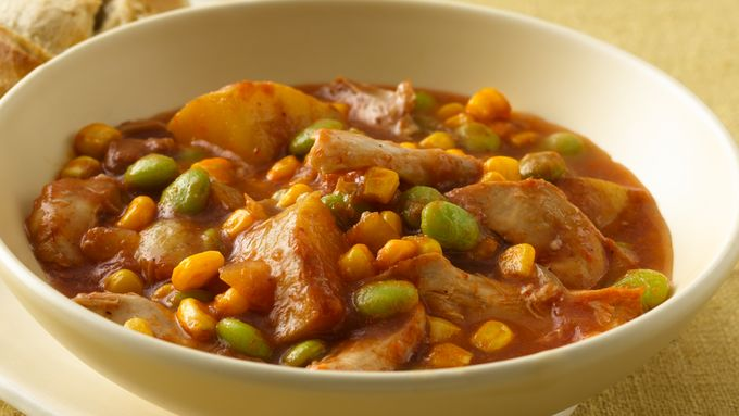 Slow-Cooker Chicken Brunswick Stew