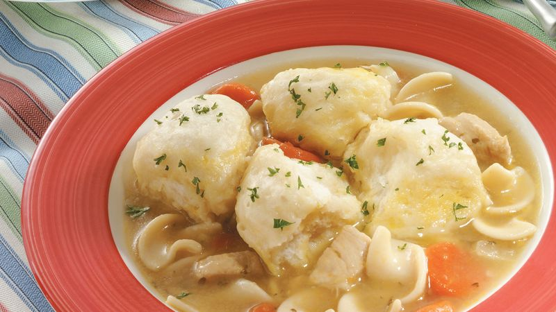 Chicken Soup and Easy Dumplings