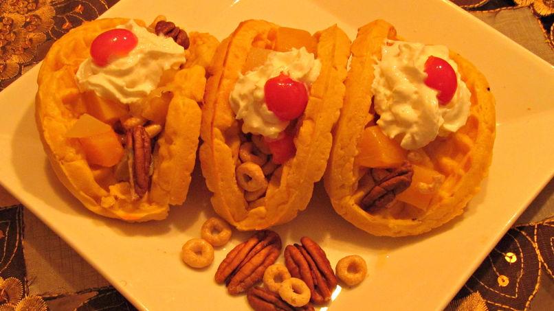 Tacos de Waffle