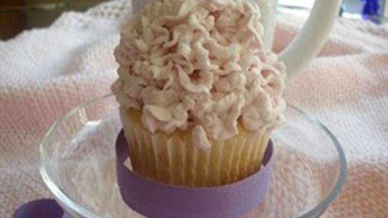 Fluffy White Fairy Cupcakes