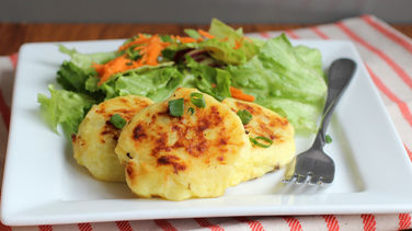 Mushroom and Potato Patties