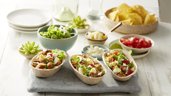 Mexican Chicken Cobb Whole Wheat Taco Boats™