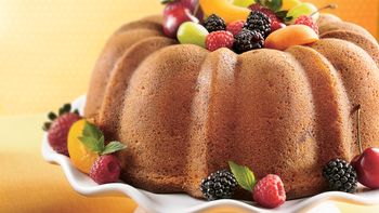 Triple-Ginger Pound Cake