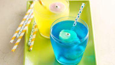 Halloween Yogurt Eyeball Floats