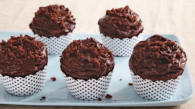 Chocolate Blackout Cupcakes