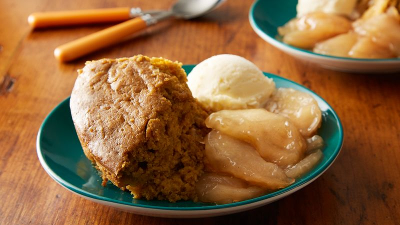 Slow-Cooker Pumpkin-Apple Dessert