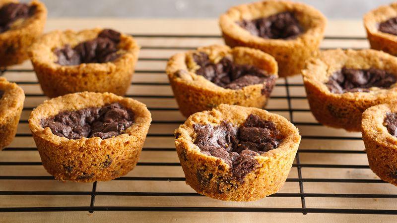 Gluten-Free Cookie Brownie Cups
