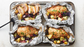 Chicken Cordon Bleu Foil Packs