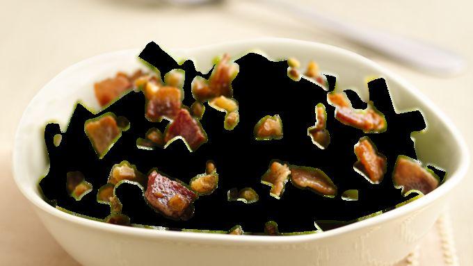 Green Beans with Bacon-Walnut Vinaigrette