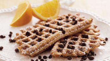 Peanut Butter Waffle Toast