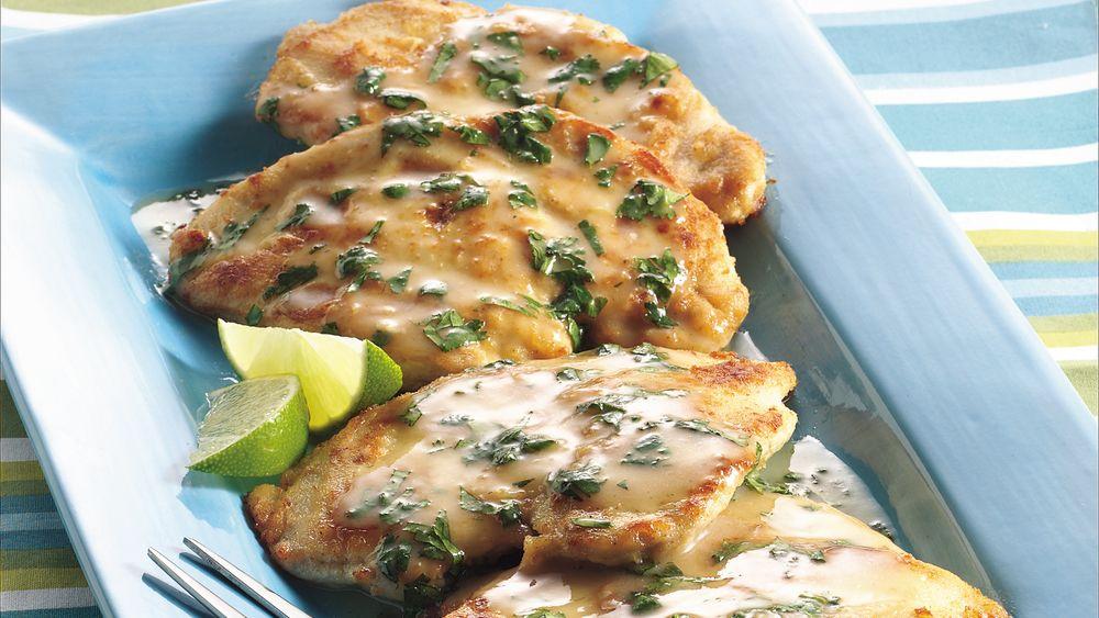 Southwestern Chicken Scaloppine
