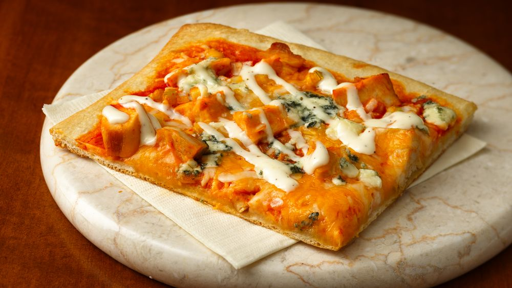 Buffalo Chicken-Style Pizza