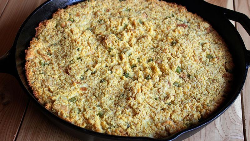 Skillet Cornbread Stuffing