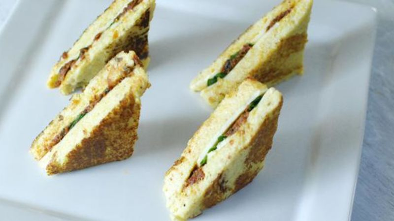 Polenta Grilled Cheese