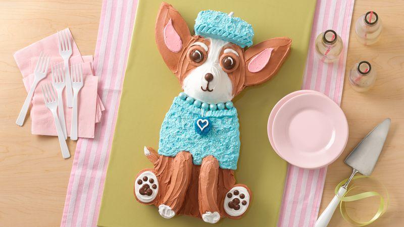 Chihuahua Dog Cake