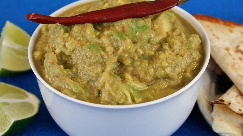 Guacamole de Chile de Árbol