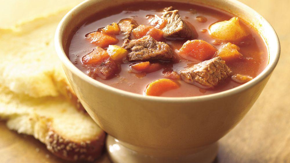Easy Skillet Beef and Vegetable Stew