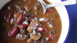 Chile Ancho and Chicken Chili