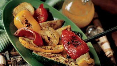 Spicy Grilled Veggies