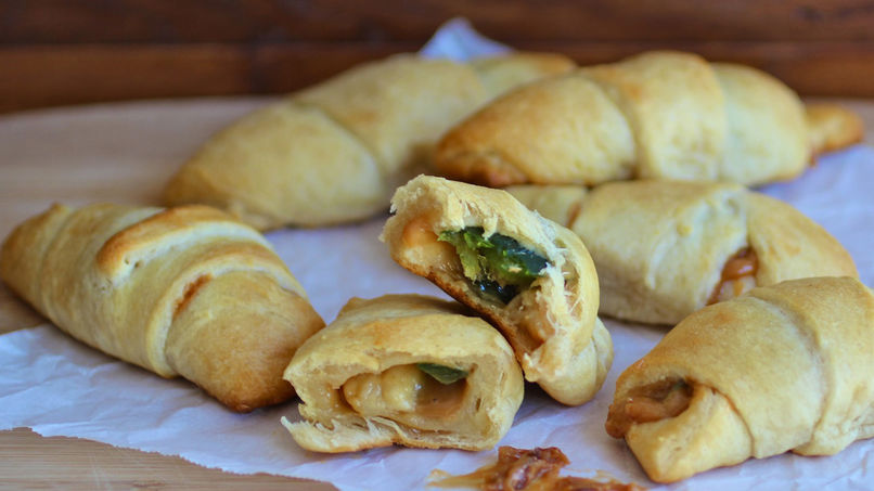 Fig and Arequipe Crescent Rolls