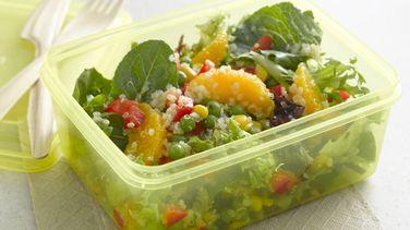 Ensalada de Hojas Verdes con Quinoa