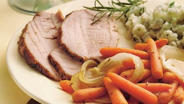 Rosemary Pork Roast with Carrots
