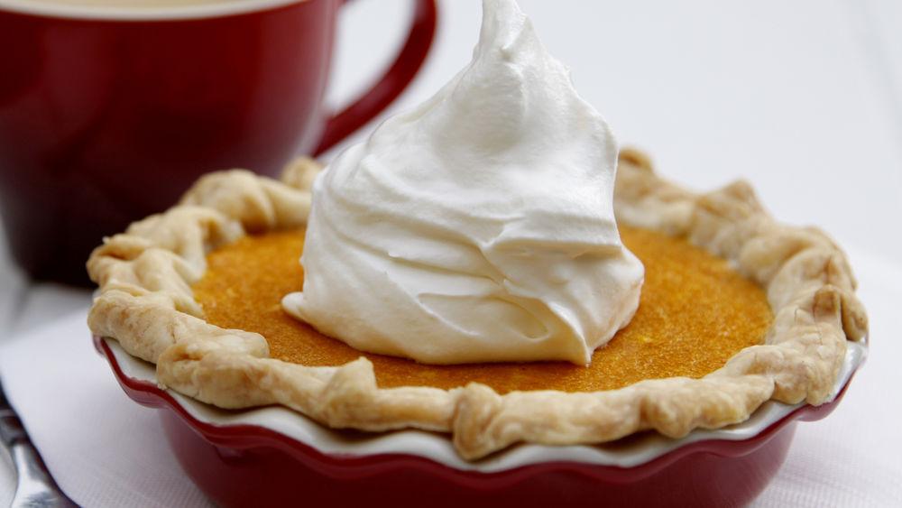 Mini Pumpkin Mascarpone Pies