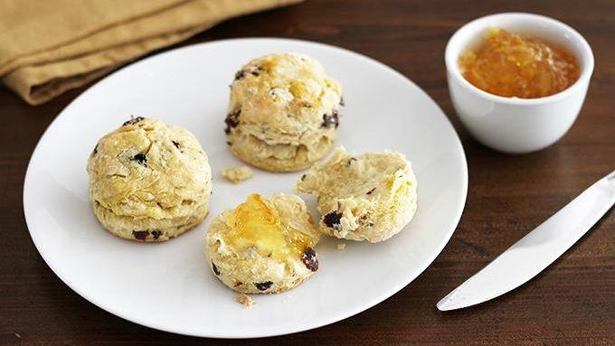 Flaky Irish Soda Bread Biscuits