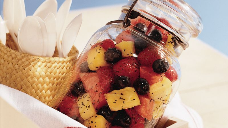 Poppy Seed Fruit Salad