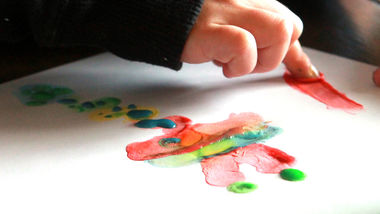 Homemade Finger Paints