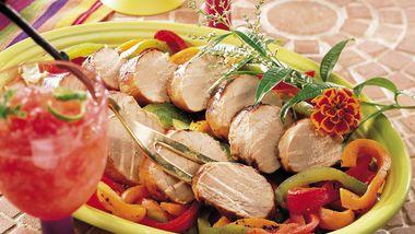 Grilled Pork Tenderloin with Firecracker Marinade