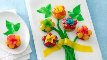 Fruity Snack Flower Bouquet