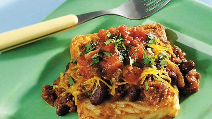Chili-Cheese Hash Browns