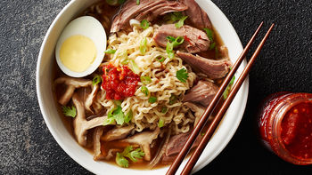Slow-Cooker Pork Shoulder Ramen