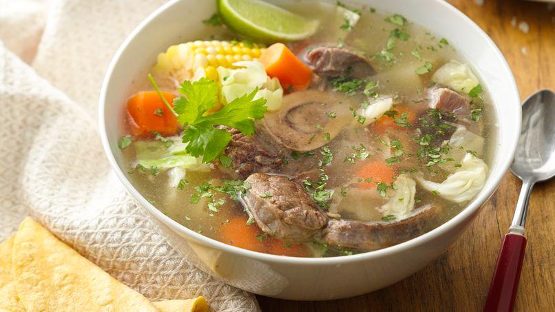 Caldo de Res - Mexican Beef Soup
