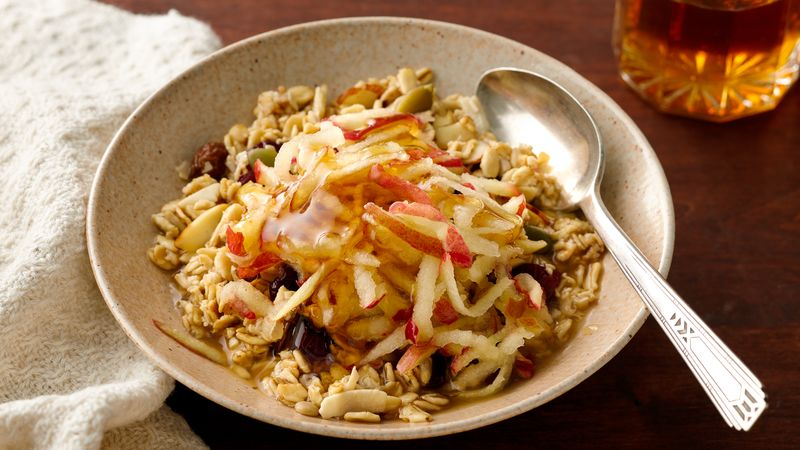 Bircher-Style Overnight Muesli with Apples
