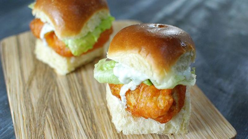 Red Curry Fish Sliders