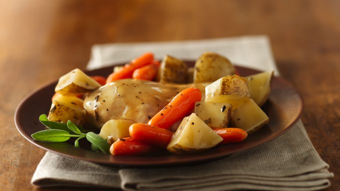 Sage Chicken and Potatoes