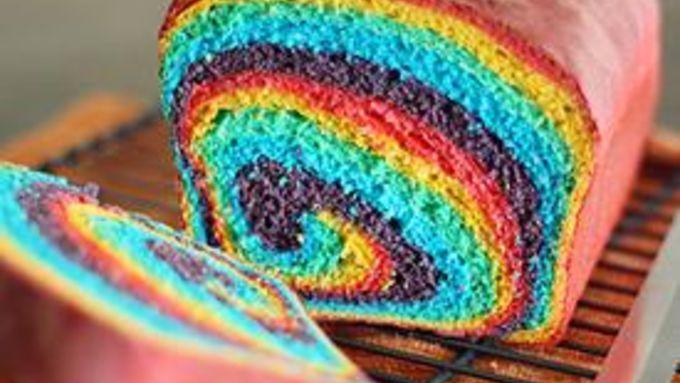 Rainbow Swirl Bread