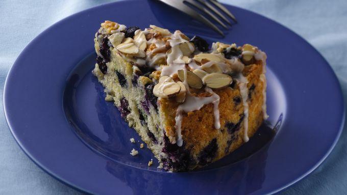 Luscious Lemon-Blueberry Coffee Cake